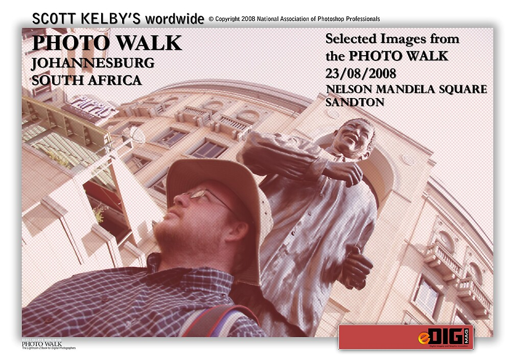Draft Cover for Scott Kelby's Photo Walk Worldwide, South Africa Photo Walk by Paul Lindenberg