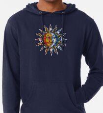 Sudadera con capucha ligera Celestial Mosaic Sun/Moon
