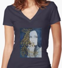 Verona Women's Fitted V-Neck T-Shirt