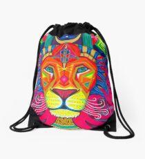Egyptian Lioness Drawstring Bag
