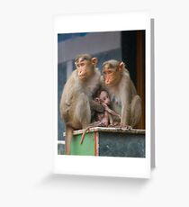 Family Unit Greeting Card