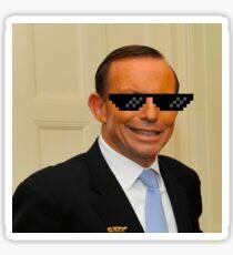 Tony Abbott Thug Life Sticker