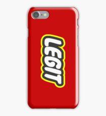 LEGIT iPhone Case/Skin