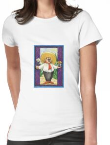 MARIACHI SINGER Womens Fitted T-Shirt