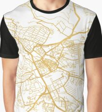 NAIROBI KENYA CITY STREET MAP ART Graphic T-Shirt