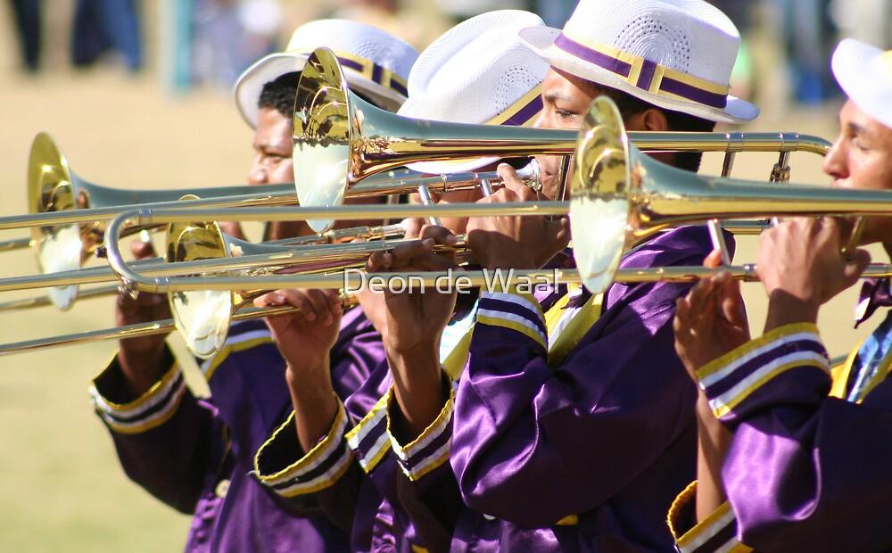 Blowing my own Trumpet? by Deon de Waal