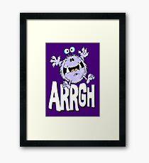 Arrgh! V1 Framed Print