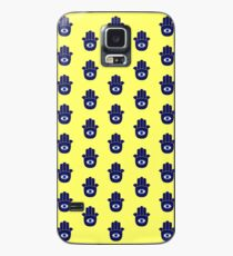 Blue Hamsa Case/Skin for Samsung Galaxy