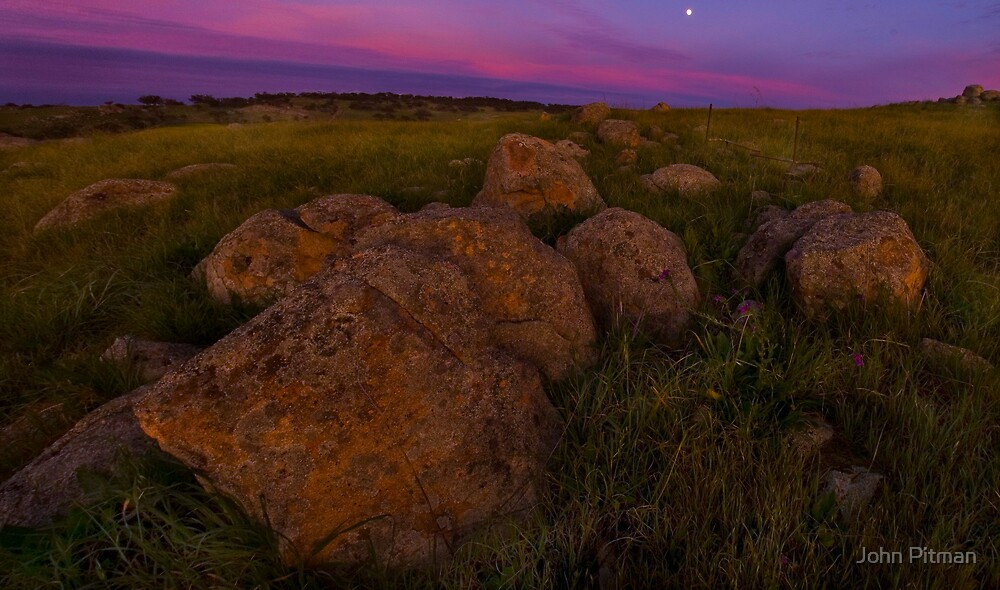 Rocking Moon by John Pitman