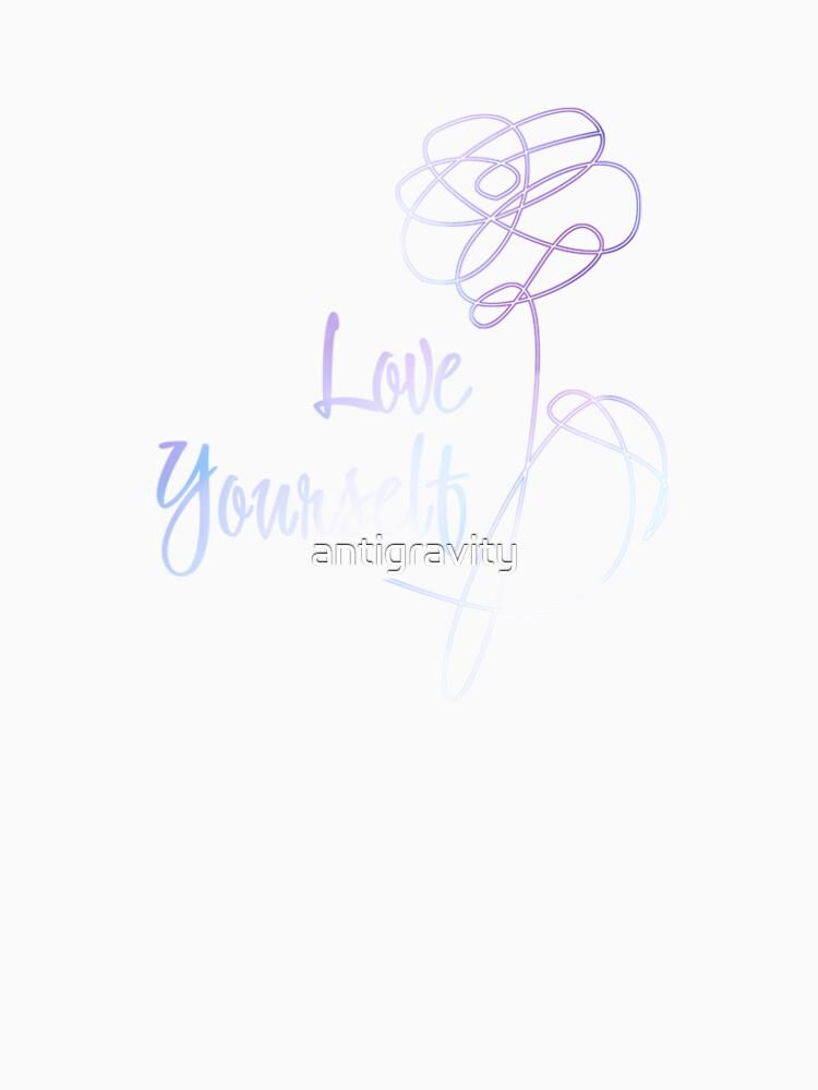 BTS - Love Yourself Black Version by antigravity