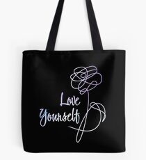 BTS - Love Yourself Black Version Tote Bag