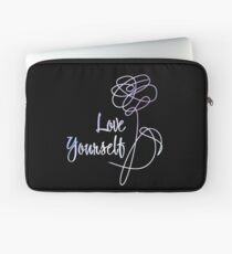 BTS - Love Yourself Black Version Laptop Sleeve
