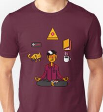Meditation Games Coffee and Books T-Shirt