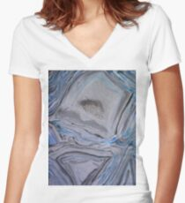 Geode Women's Fitted V-Neck T-Shirt
