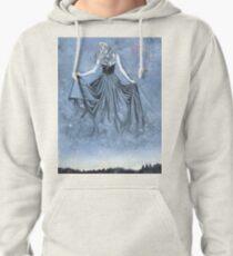 Night and her Train of Stars Pullover Hoodie