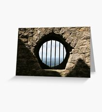 Window With A View Greeting Card