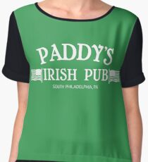 Paddy's Irish Pub Women's Chiffon Top