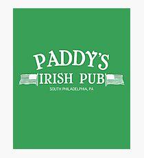 Paddy's Irish Pub Photographic Print