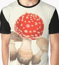 Mushrooms Graphic T-Shirt