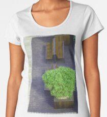 Bush and benches. Women's Premium T-Shirt