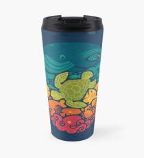 Aquatic Rainbow Travel Mug