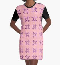 Scissors II Graphic T-Shirt Dress