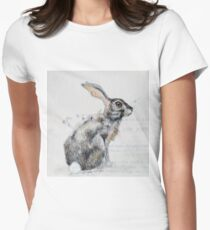 Hare Women's Fitted T-Shirt