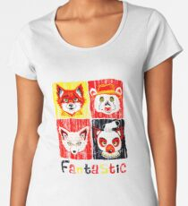 b5e1a7664de8f Fantastique M. Fox T-shirt premium femme
