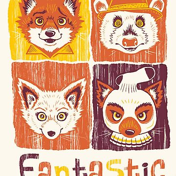 Fantastic Mr. Fox by BalageBoutik
