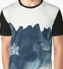 Blue Paeonia #1 Graphic T-Shirt