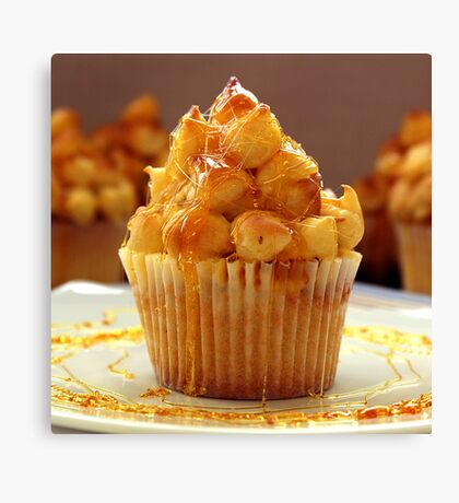 ToffeeTumble Cupcakes Canvas Print