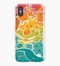 Animal Rainbow iPhone Case