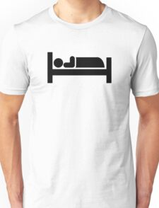 Bed sleeping Unisex T-Shirt