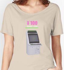 100 YEN ARCADE CABINET Women's Relaxed Fit T-Shirt