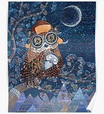 Owl mother Poster