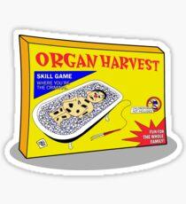 Organ Harvest Sticker