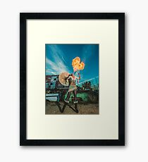Dragons Heart Framed Print