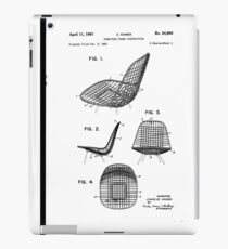 Blueprint furniture ipad cases skins redbubble eames wire chair patent artwork ipad caseskin malvernweather