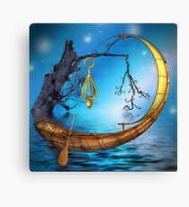 On the Sea of Tranquility Canvas Print