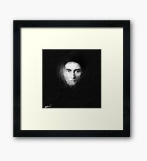 Franz Kafka - Digital Painting Framed Print