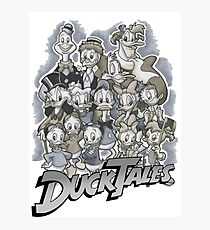 duck tales Photographic Print