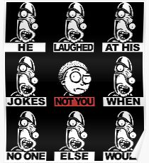 Not Morty Poster
