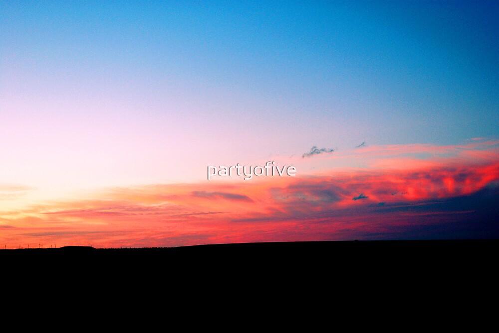 beautiful sky... by partyofive