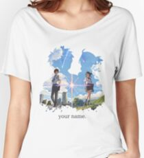 Kimi no na wa  your name. Women's Relaxed Fit T-Shirt