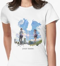 Kimi no na wa  your name. Women's Fitted T-Shirt