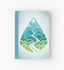 The Road Goes Ever On: Summer Hardcover Journal