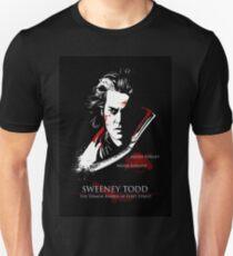 Johnny Depp as Sweeney Todd Unisex T-Shirt