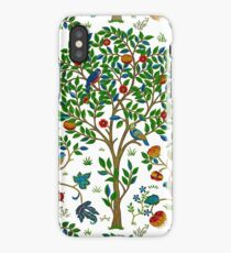 William Morris Tree of Life, Green  iPhone Case
