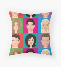 I'll be there for you Throw Pillow