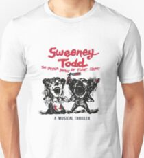 Sweeney Todd The Demon Barber of Fleet Street Unisex T-Shirt